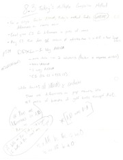 Tukey's Multiple Comparison Method Notes