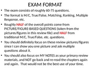 Exam 1 Review pics on CH 1 to CH 5 Fall 2015