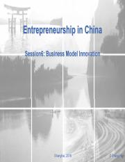 ES in China_Session6-Business-Model-Innovation