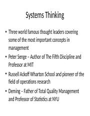 Systems Thinking.ppt