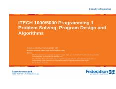 ITECH1000 Program Design and Algorithms.pdf