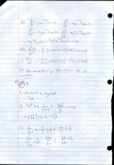 Multivariable Calculus 11.4 Homework Solutions