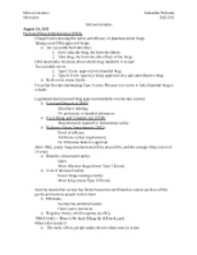 Microeconomics Notes - Test 1