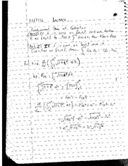 Fundamental Theorem of Calculus Notes