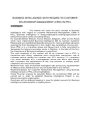BUSINESS INTELLIGENCE WITH REGAD TO CUSTOMER Ms thesis.doc