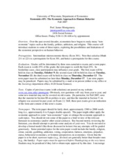 econ 451 - syllabus - fall 2007