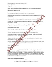 SolutionManual_SupplyChainMgmt_ALogisticsPerspective_9Ed_by_Coyle_Langley_Chapter15