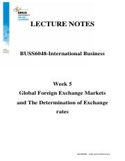 2017022518015500012845_LN5_Global Foreign Exchange Markets and The Determination of Exchange rates.p