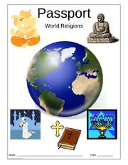 world_religions_research_sheets