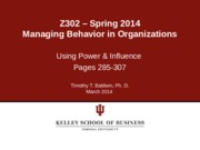 Chapter+8+-+Using+Power+and+Influence+-+SP+20141