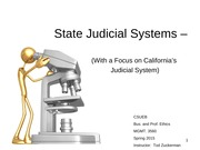 CSUEB BPE PPT 4 State+Judicial+Systems+with+Focus+on+Calif (7)