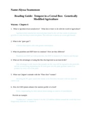 Reading Questions #8