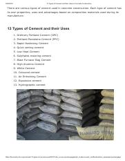 13 Types of Cement and their Uses in Concrete Construction.pdf