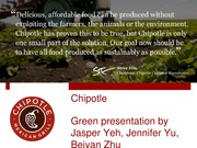Chipotle Grill Example