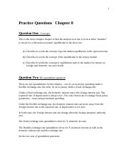 Practice Questions   Chapter 8.doc