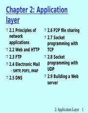 UNIT - V-Application layer