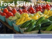 FOOD SAFETY AND FOOD BORNE ILLNESS Lecture