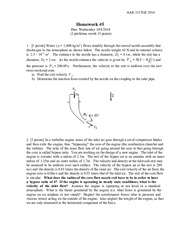 Fall2014_hw5_Conservation of Energy