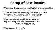 Lecture 6 Notes
