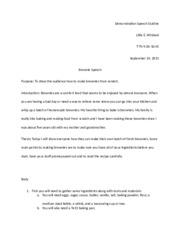 how to do demonstration speech