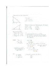 Triogonmetry of Right Triangles