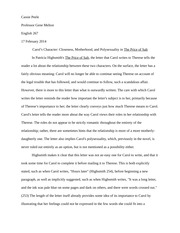 Close Reading Paper