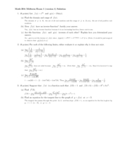 MATH 20A : hsitory - University of California, San Diego -