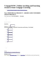 CengageNOW _ Online teaching and learning resource from Cengage Learning