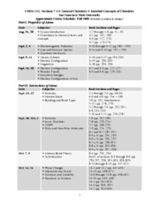 Baird_CHEM_115_Course_Schedule_Fall_08