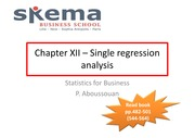 Chapter_XII__Single_regression_analysis