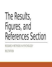 9The Results & References Sections