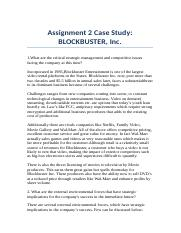 Assignment 2 - Blockbuster Inc. Case Study.docx