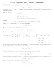 Section_2.2-Linear equations with constant coefficients