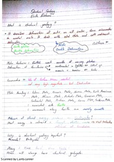 Earth Deforms Exam Revision Notes