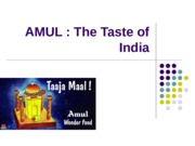 Amul Supply Chain ppt