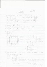 Study Sheet for PV Diagrams, Engines, Efficiency, Buoyancy