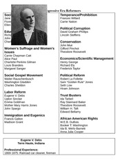 eugene v debs essay Free research that covers thesis statement eugene debs was one of the most intriguing numbers in american history he was a amalgamation worker who increased through the ranks to become.