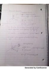 Spherical Coordinates Lecture Notes