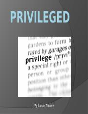 Privileged.pptx