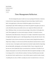 Time management reflection.docx