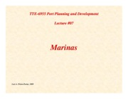 Lecture07-Marinas