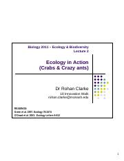 L02 Ecology in action