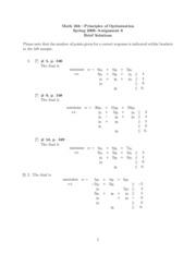 Math 364 Assignment 6 Solutions