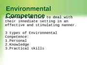 12.+Environmental+Competence