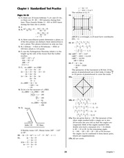 Pre-Calculus Homework Solutions 21