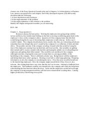 Essay Questions - Chapter 2.docx