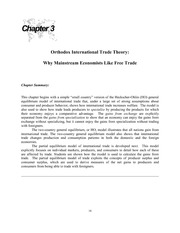 international economics chapter 3