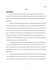 Law 310 Exam 2 Essay 3