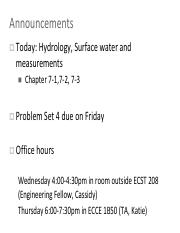 Lecture 18_Hydrology_SurfaceGround_update.pdf
