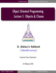 Lecture01 - Objects & Classes.pdf